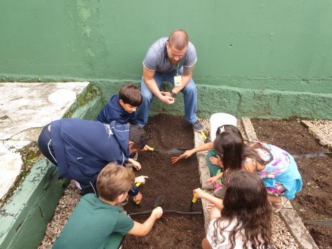 Gardening At School!